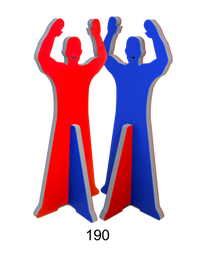 FoamDude 190 cm – Handball